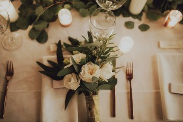 Gorgeous New Year's Eve Wedding by Logan Cole Photography and Seven Stems 12