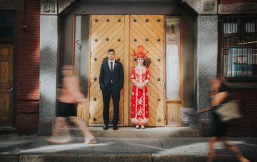 Contemporary Multi-Cultural Wedding Inspiration