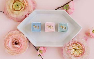 10 Alternative Wedding Ring Cushions & Boxes