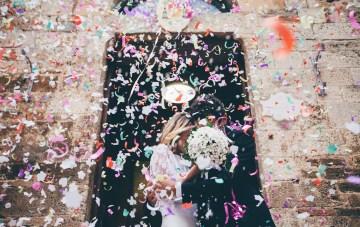 Simple Italian Wedding with Effortless Style