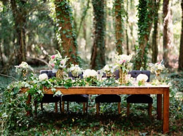 Woodland Wedding Inspiration by Molly Lichten Photography and Jamie Leigh Events 27