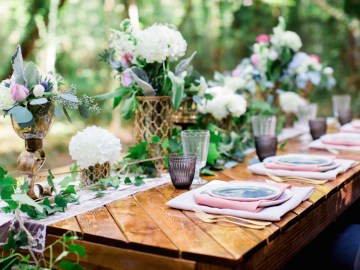 Woodland Wedding Inspiration by Molly Lichten Photography and Jamie Leigh Events 3