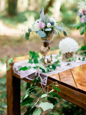 Woodland Wedding Inspiration by Molly Lichten Photography and Jamie Leigh Events 30