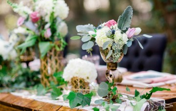 Woodland Wedding Inspiration by Molly Lichten Photography and Jamie Leigh Events 32