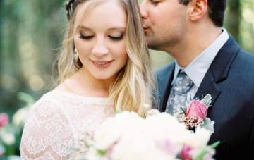 Gin-Laced Wedding Inspiration in the Woods