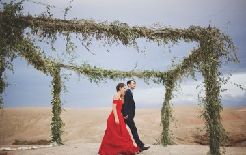 Morocco to NYC, A Cool Two-Part Elopement
