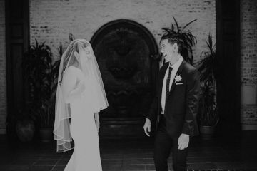 Glamorous & Stylish Wedding by Katie Branch Photography and Jen Kruger Design 10