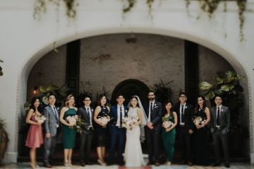 Glamorous & Stylish Wedding by Katie Branch Photography and Jen Kruger Design 14