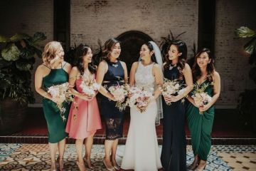 Glamorous & Stylish Wedding by Katie Branch Photography and Jen Kruger Design 43