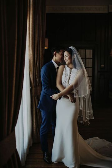Glamorous & Stylish Wedding by Katie Branch Photography and Jen Kruger Design 47