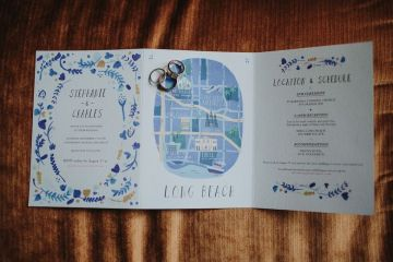 Glamorous & Stylish Wedding by Katie Branch Photography and Jen Kruger Design 62