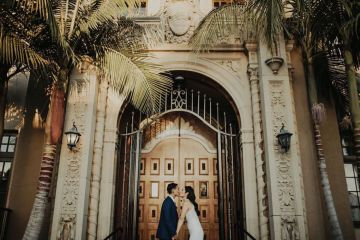 Glamorous & Stylish Wedding by Katie Branch Photography and Jen Kruger Design 75