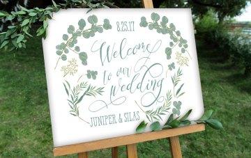 Greenery Signage