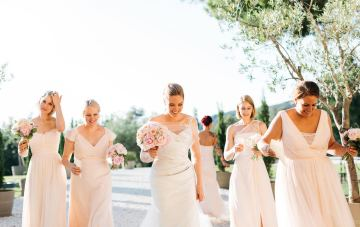 Sun-Soaked Destination Wedding in Italy with Beautiful Decor
