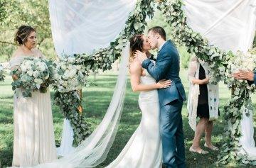 Romantic Wedding Ceremony