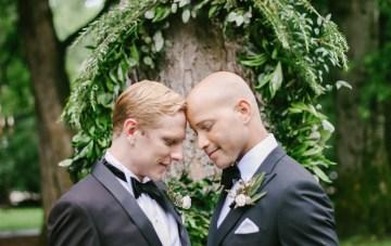 Same Sex Southern Wedding Inspiration by Jenna Henderson and Cedarwood Weddings 21