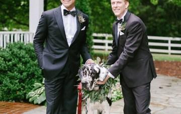 Same Sex Southern Wedding Inspiration by Jenna Henderson and Cedarwood Weddings 23