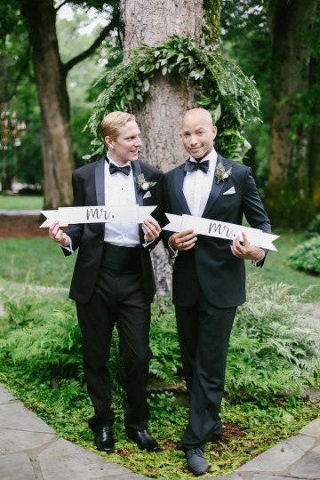 Same Sex Southern Wedding Inspiration by Jenna Henderson and Cedarwood Weddings 30