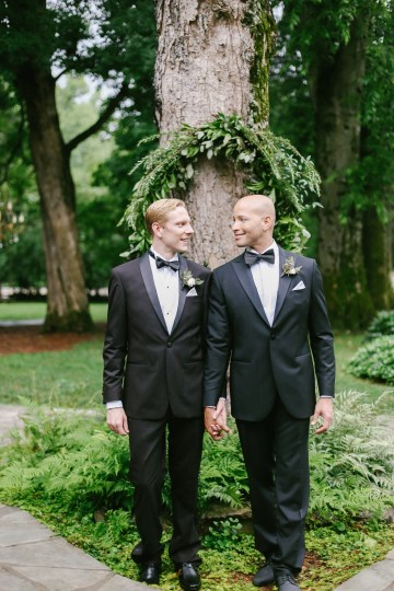Same Sex Southern Wedding Inspiration by Jenna Henderson and Cedarwood Weddings 43