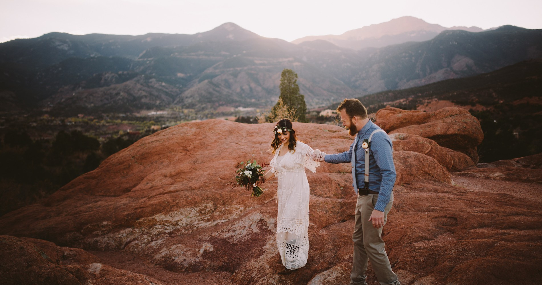 Sunset Elopement by Ashlee Kay Photography 1