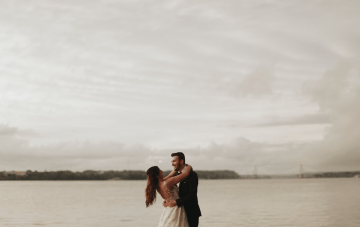 Dreamy Sunset Wedding Film (That Made Us Well-Up!)