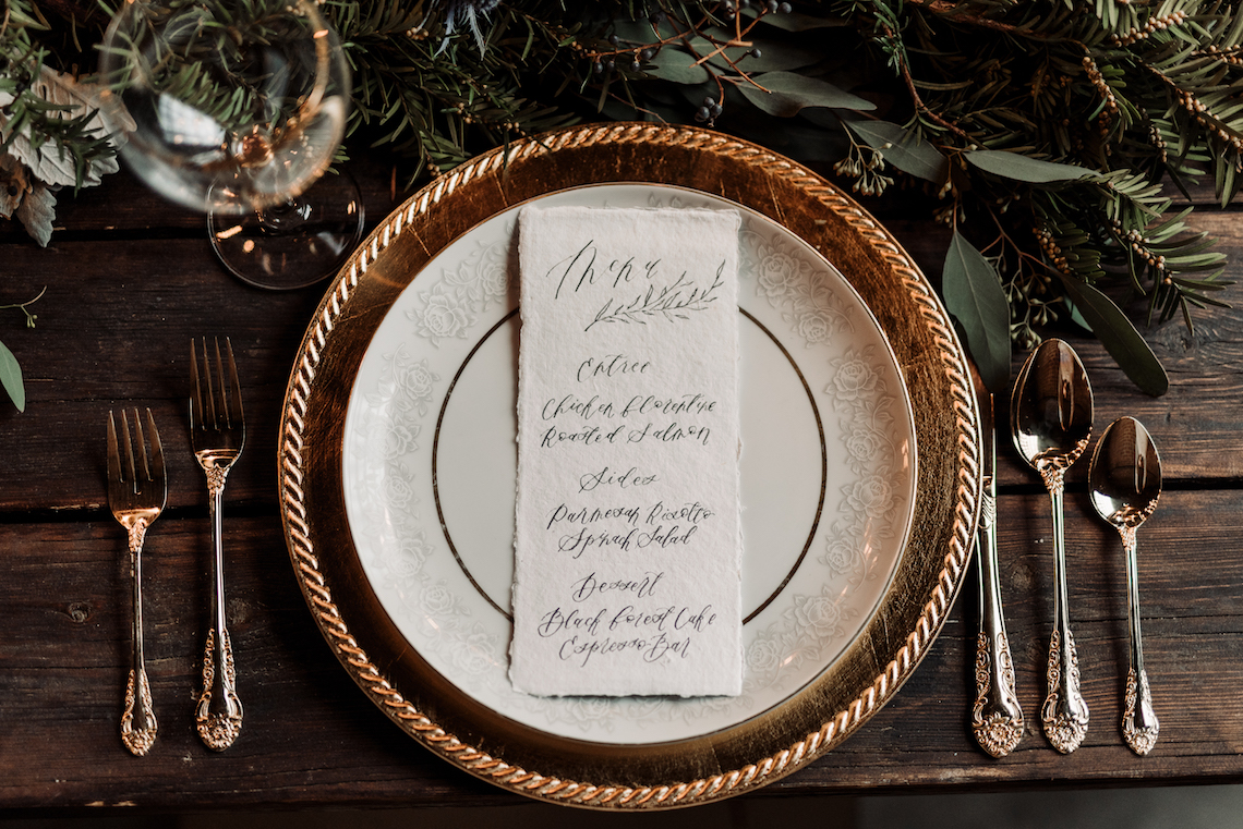 Moody Winter Wedding Inspiration by Kelcy Leigh Photography 4