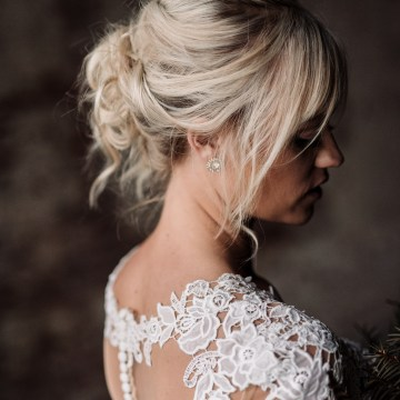 Moody Winter Wedding Inspiration by Kelcy Leigh Photography 40