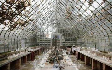 The Secret Garden: Fine Art Glasshouse Wedding Inspiration
