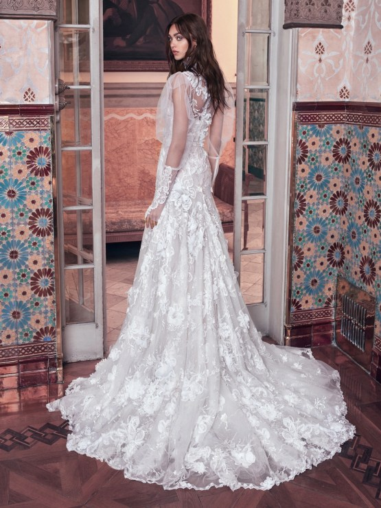 Laura back Galia Lahav Wedding Dress Collection 2018 09