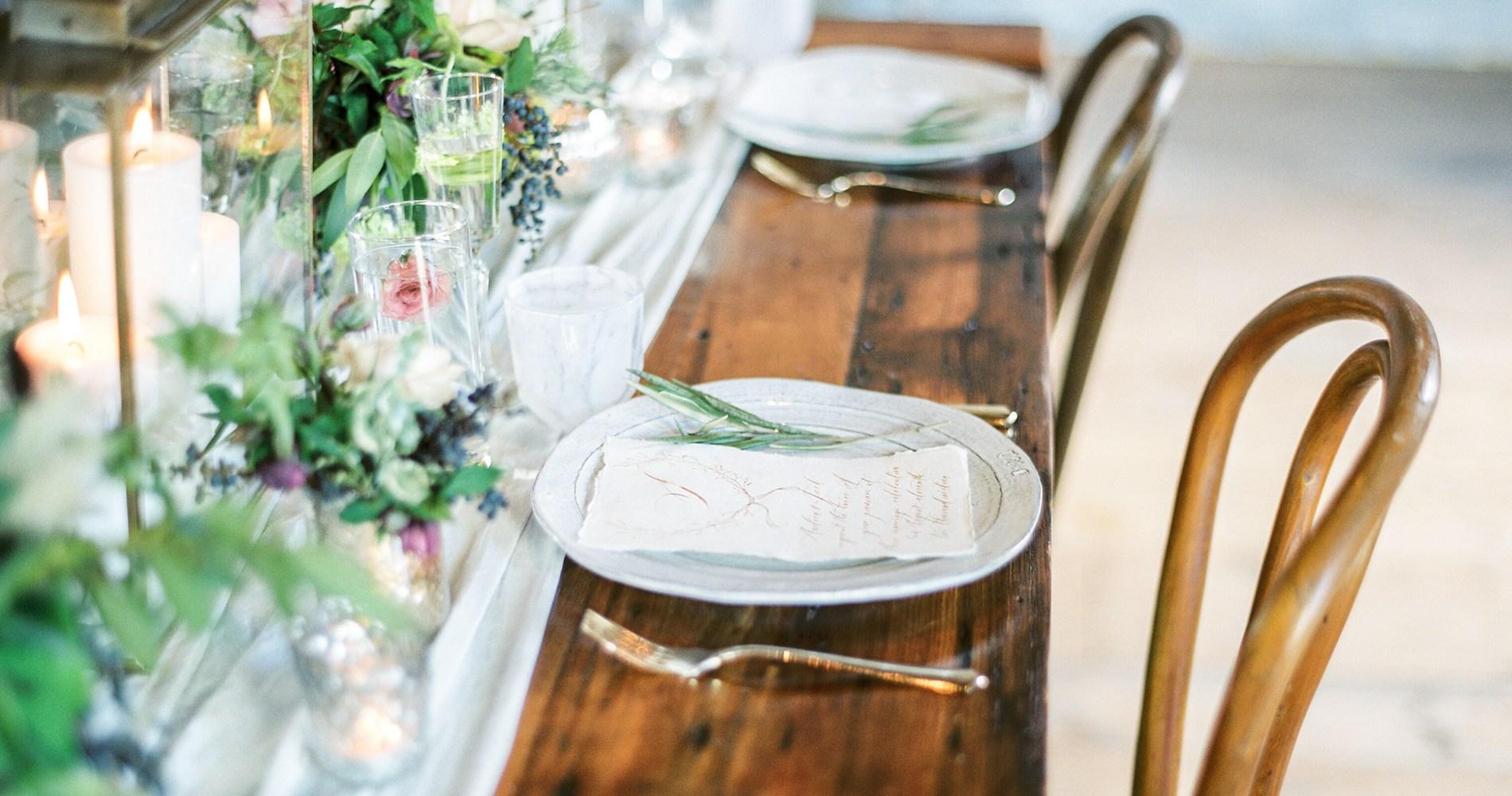 Pretty Warehouse Wedding Inspiration by Natashia Nicole Photography 16