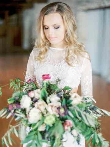 Pretty Warehouse Wedding Inspiration by Natashia Nicole Photography 2