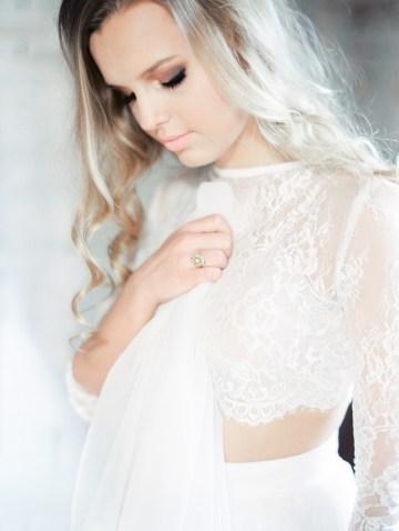 Pretty Warehouse Wedding Inspiration by Natashia Nicole Photography 28