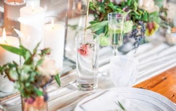 Pretty Warehouse Wedding Inspiration by Natashia Nicole Photography 33