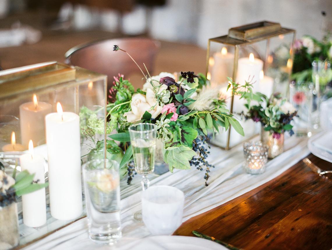 Pretty Warehouse Wedding Inspiration by Natashia Nicole Photography 36