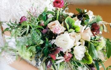 Pretty Warehouse Wedding Inspiration by Natashia Nicole Photography 4