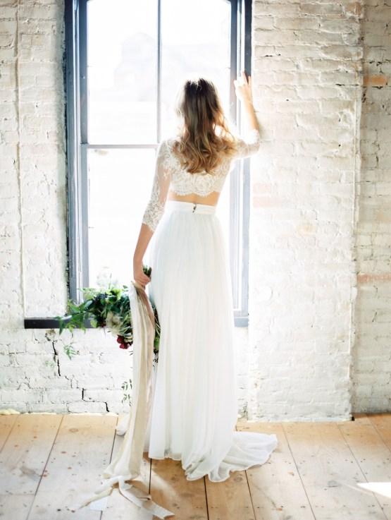 Pretty Warehouse Wedding Inspiration by Natashia Nicole Photography 45