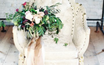 Pretty Warehouse Wedding Inspiration by Natashia Nicole Photography 8
