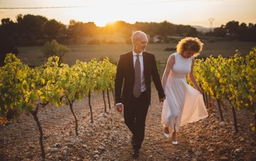 Simple & Stylish DIY Wedding in the South of France