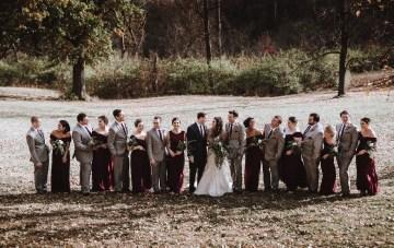 Romantic Winter Wedding by Brandi Potter Photography 10