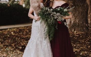 Romantic Winter Wedding by Brandi Potter Photography 12