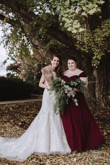 Romantic Winter Wedding by Brandi Potter Photography 17