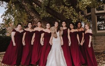 Romantic Winter Wedding by Brandi Potter Photography 4