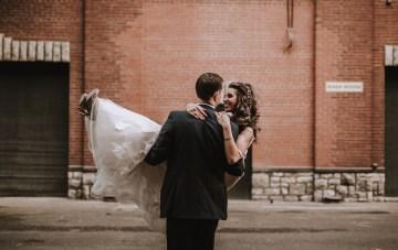 Romantic Winter Wedding by Brandi Potter Photography 41