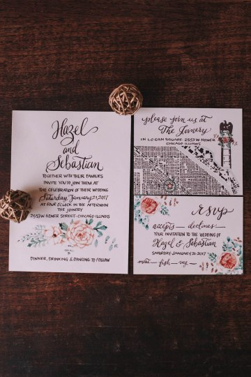 Vintage Travel Wedding Inspiration by Alexandria Odekirk Photography and Dotted Events 13