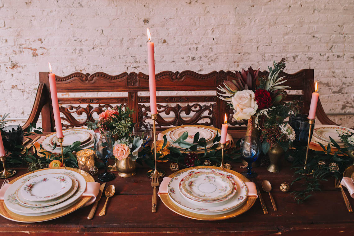 Vintage Travel Wedding Inspiration by Alexandria Odekirk Photography and Dotted Events 39