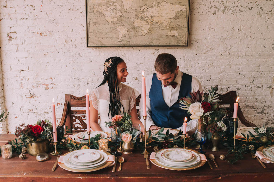 Vintage Travel Wedding Inspiration by Alexandria Odekirk Photography and Dotted Events 42