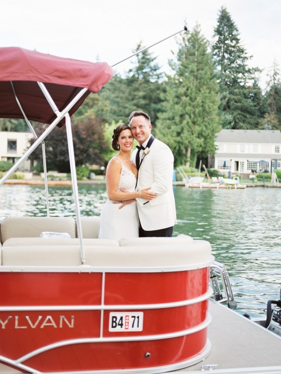Beautiful Lakehouse Wedding by Jamie Rae Photo 47