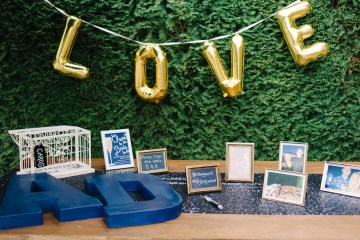 Elegant Cocktail Party Wedding by Blue Rose Pictures and Perfectly Posh Events 18