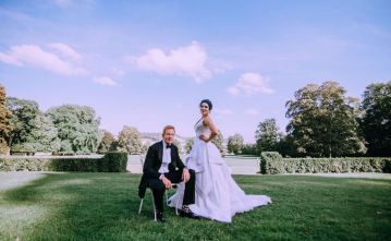 Glamorous French Wedding by Alisabeth Von Presley and Fete in France 13
