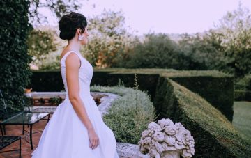 Glamorous French Wedding by Alisabeth Von Presley and Fete in France 14